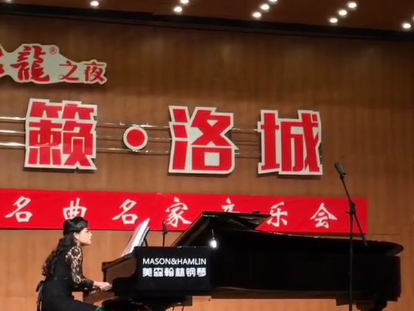 美森韩林钢琴音乐会展示